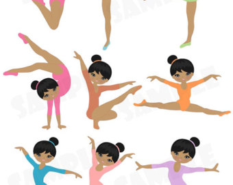 Gymnast images clipart free graphic free download Gymnastics Clipart Tumbling | Clipart Panda - Free Clipart Images graphic free download