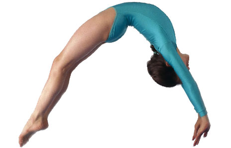 Free tumbling clipart svg freeuse Tumbling gymnastics clipart free clipart images - WikiClipArt svg freeuse