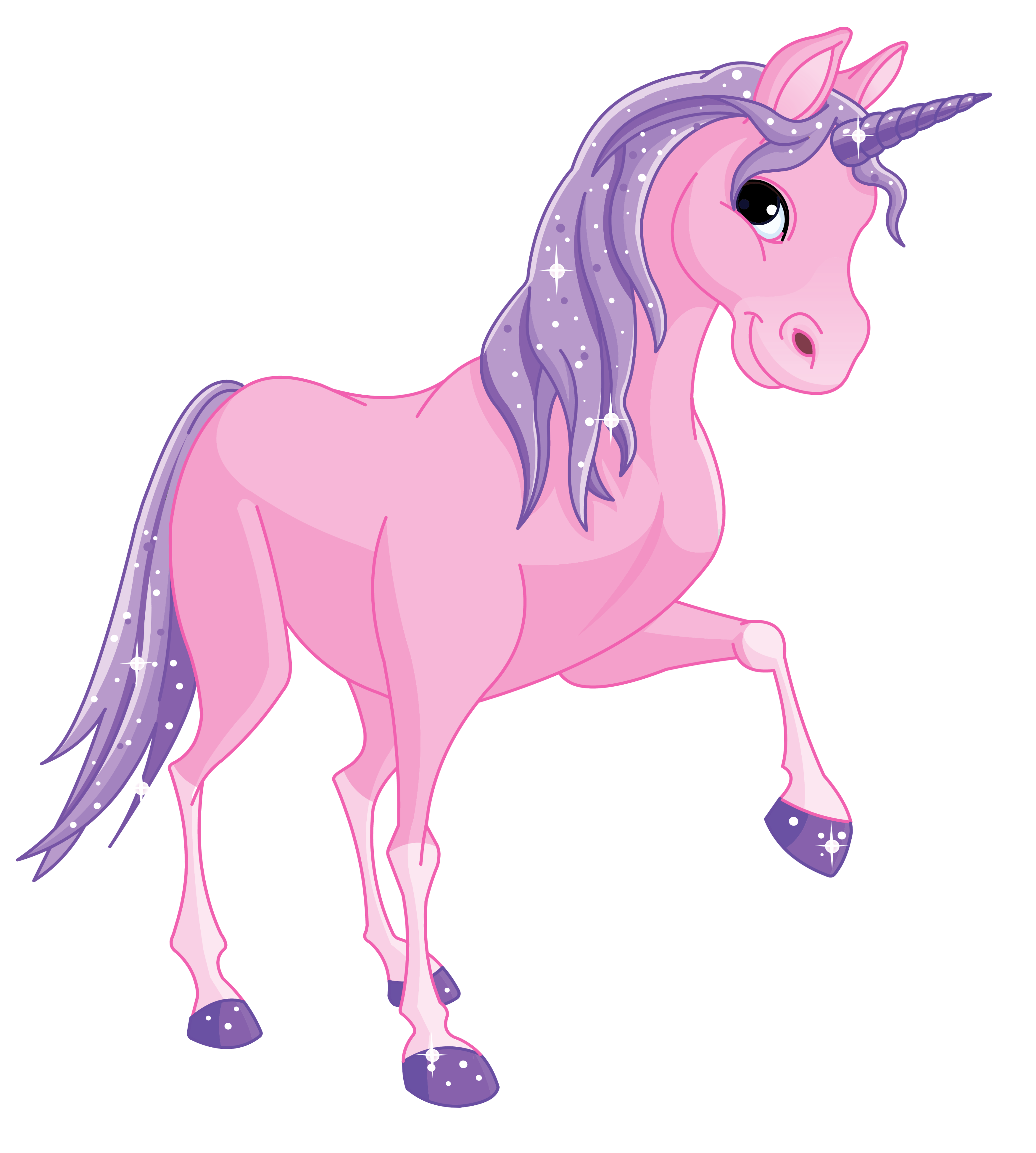 Free unicorn crown clipart png black and white stock Pink Pony Clipart | #unicorns | Pinterest | Pony and Unicorns png black and white stock