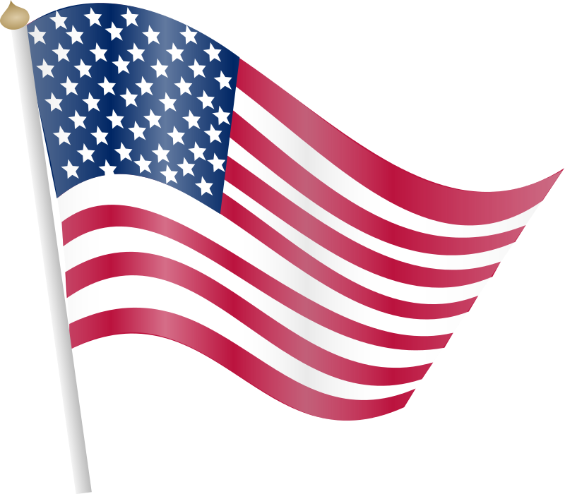 Free us flag clipart png download American flag clipart transparent - ClipartFest png download