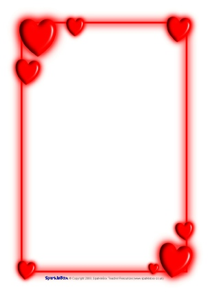 Free valentines day background clipart for teachers clip freeuse library Valentine\'s Day Teaching Resources & Printables for Primary - SparkleBox clip freeuse library