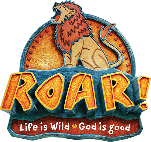 Bible verses for vacation bible school black & white clipart graphic royalty free library Roar VBS 2019 | Free Resources & Downloads graphic royalty free library