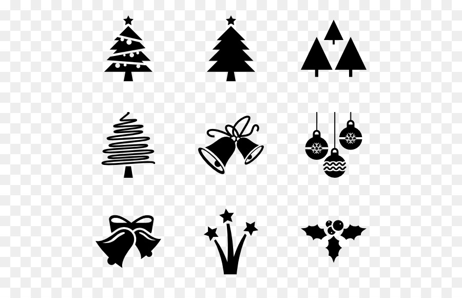 Free vector christmas clipart in black and white picture library stock Christmas Black And White png download - 600*564 - Free Transparent ... picture library stock
