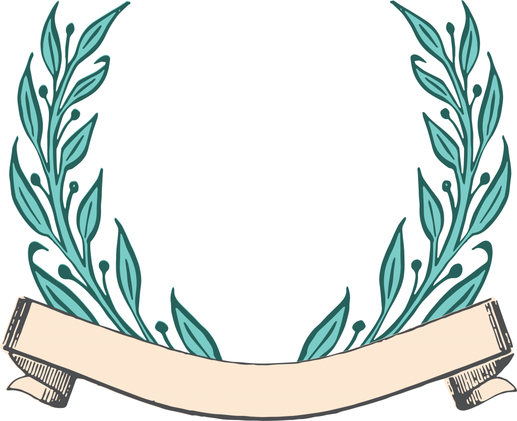 Free vector clipart download banner royalty free Free Vector Art - Ribbon Scroll and Laurels | Free vector art ... banner royalty free