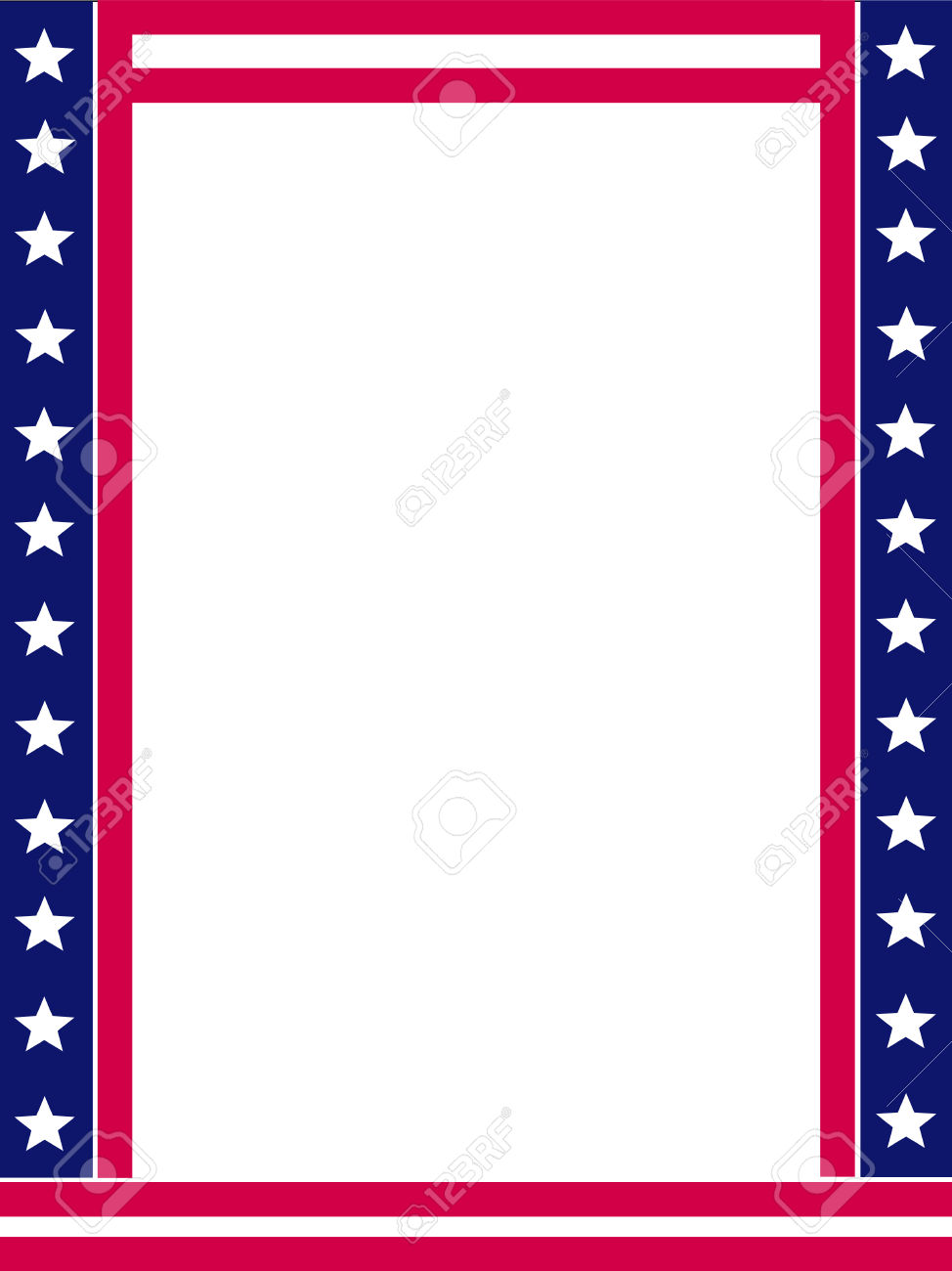 Free vector clipart fourth of july border banner freeuse library Fourth Of July Border | Free download best Fourth Of July Border on ... banner freeuse library