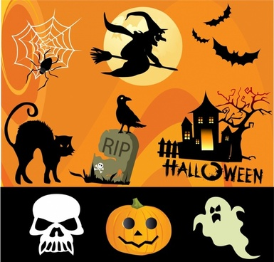 Free vector halloween clipart picture transparent Halloween free vector download (965 Free vector) for commercial use ... picture transparent