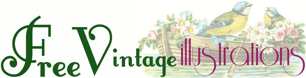 Free vintage clipart for commercial use banner transparent Free Vintage Illustrations | Unique Vintage Illustrations That Are ... banner transparent
