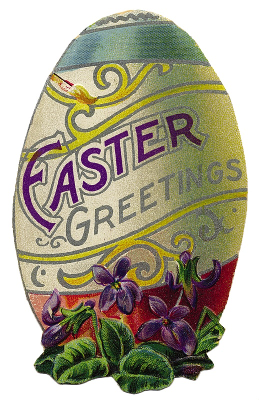 Free vintage easter egg clipart picture freeuse stock 17 Best images about easter on Pinterest | Chocolate sculptures ... picture freeuse stock