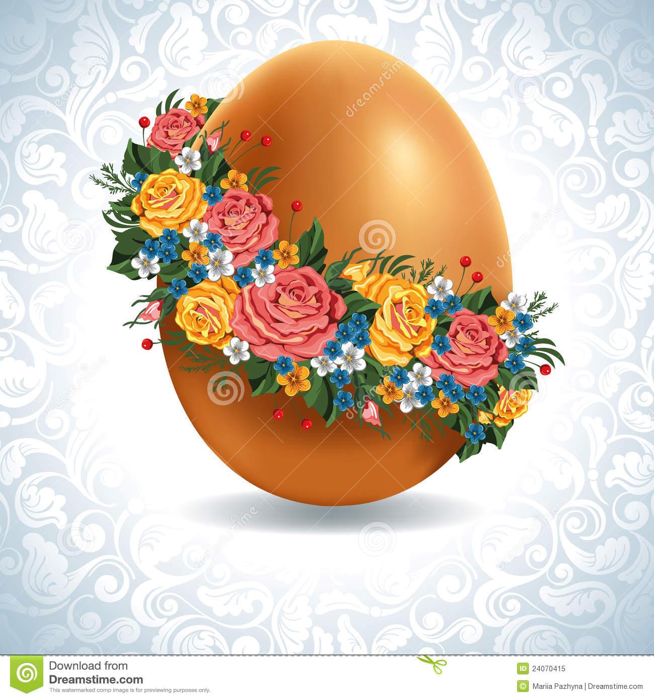 Free vintage easter egg clipart vector transparent library Vintage Easter Egg Royalty Free Stock Photo - Image: 24070415 vector transparent library