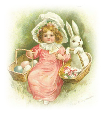 Free vintage easter egg clipart jpg transparent stock Free Clip Art from Vintage Holiday Crafts » Blog Archive » Free ... jpg transparent stock