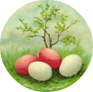 Free vintage easter egg clipart jpg freeuse Free Clip Art from Vintage Holiday Crafts » Blog Archive » Free ... jpg freeuse