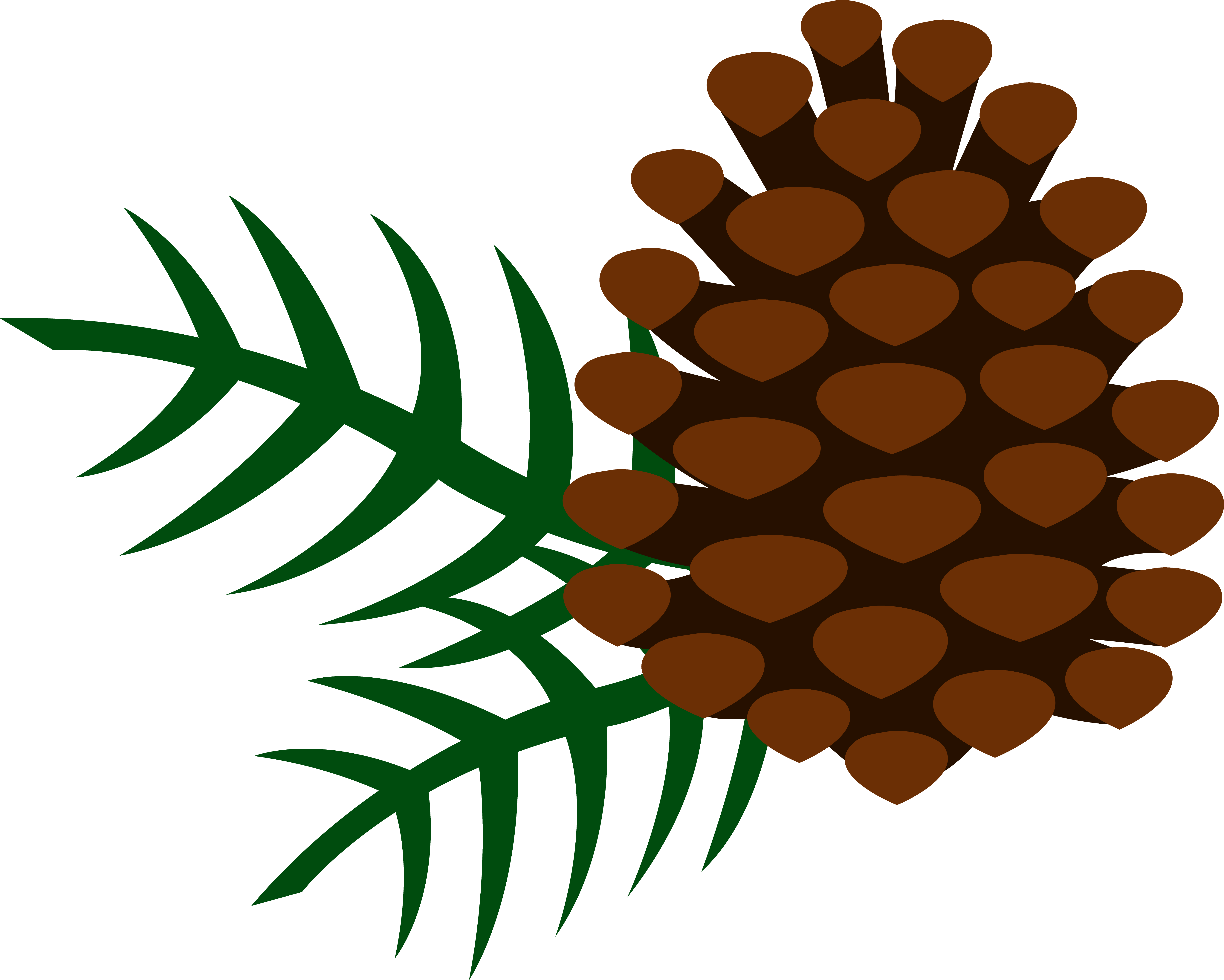 Free vintage pine cone holiday clipart png library library pine cones | Pine Cone and Pine Needles - Free Clip Art | Pine Cone ... png library library