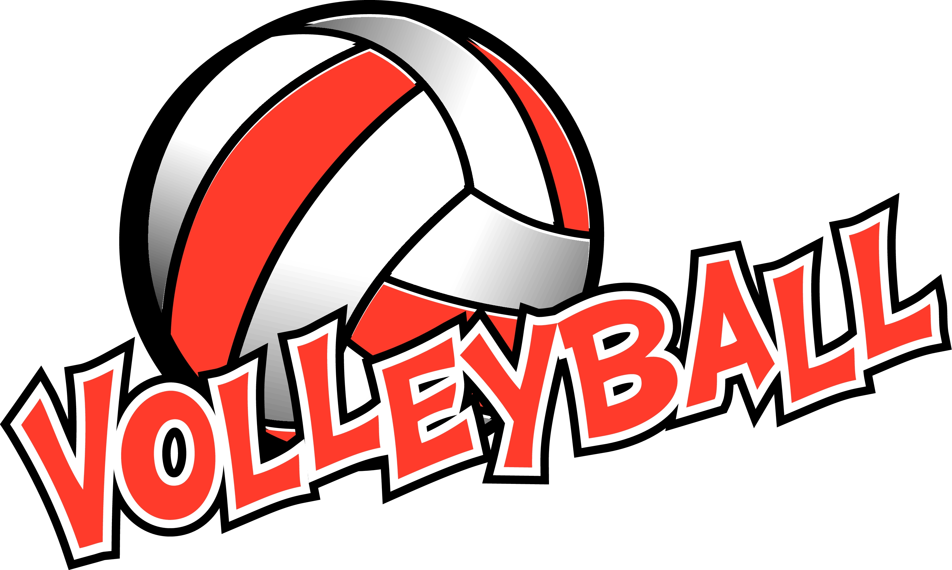 Free volleyball logos clipart clip black and white Flaming Volleyball Clipart | Free download best Flaming Volleyball ... clip black and white