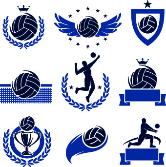 Volleyball vector clipart free graphic transparent stock Free vectors volleyball free vector download (88 Free vector) for ... graphic transparent stock