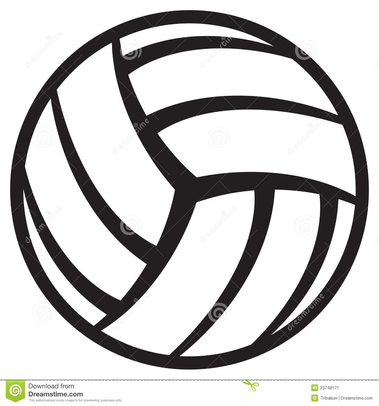 Free volleyball logos clipart clip royalty free Volleyball logo clipart 4 » Clipart Station clip royalty free