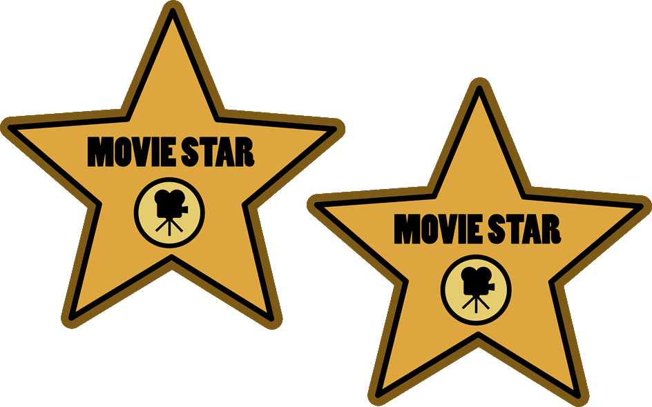 Movie star clipart clip art royalty free library Hollywood Walk of Fame Hollywood Stars Movie star Clip art ... clip art royalty free library