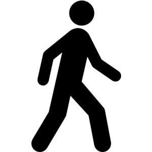 Free walking clipart jpg black and white library Walking clip art free clipart images 4 - ClipartBarn jpg black and white library