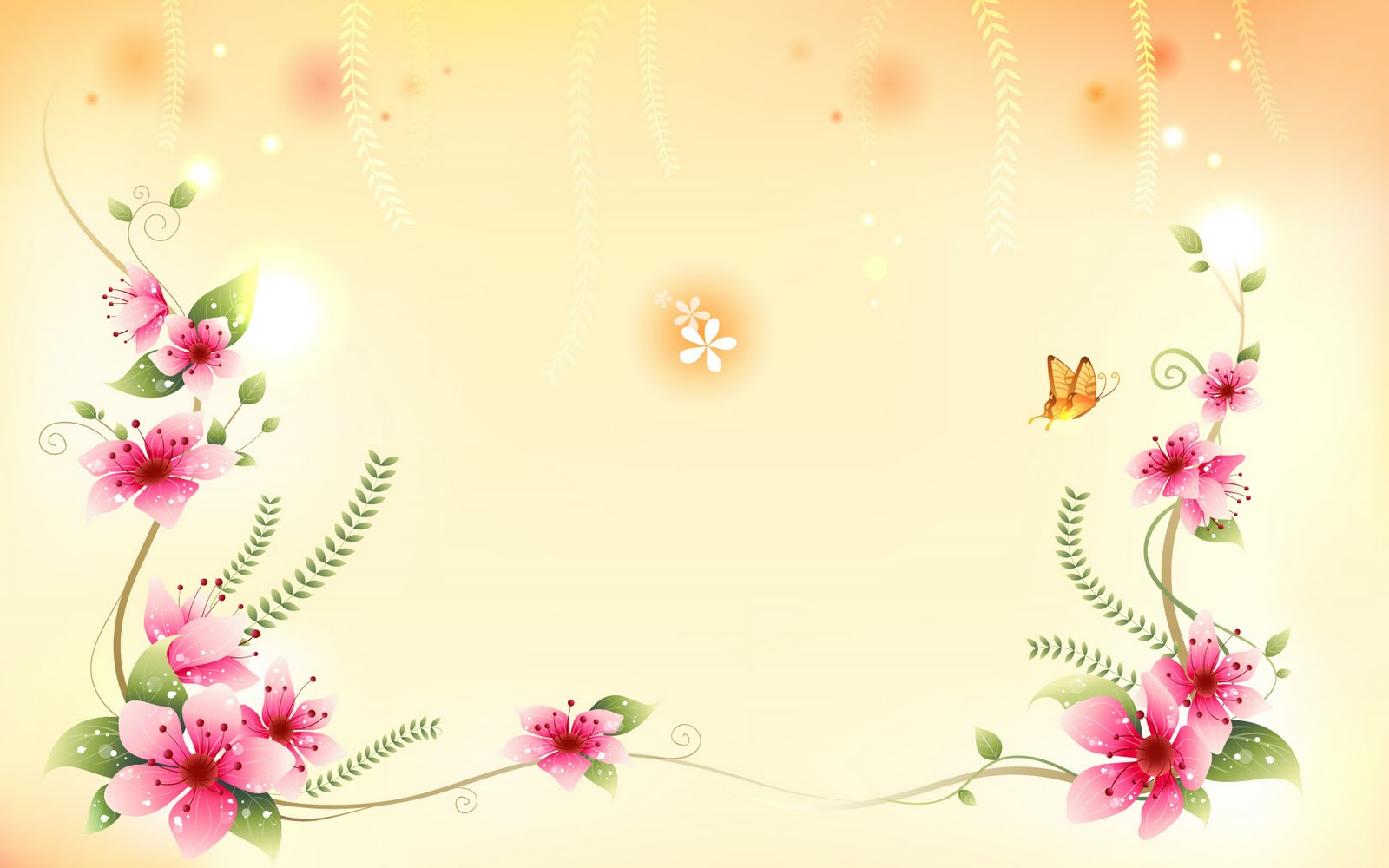 Free wallpaper backgrounds flowers banner transparent download Flower Background Wallpaper banner transparent download