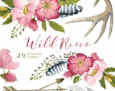 Free watercolor floral bushel clipart free library 118 Best Housekeeping & Handyman images in 2018 | Cleaning, Health ... free library