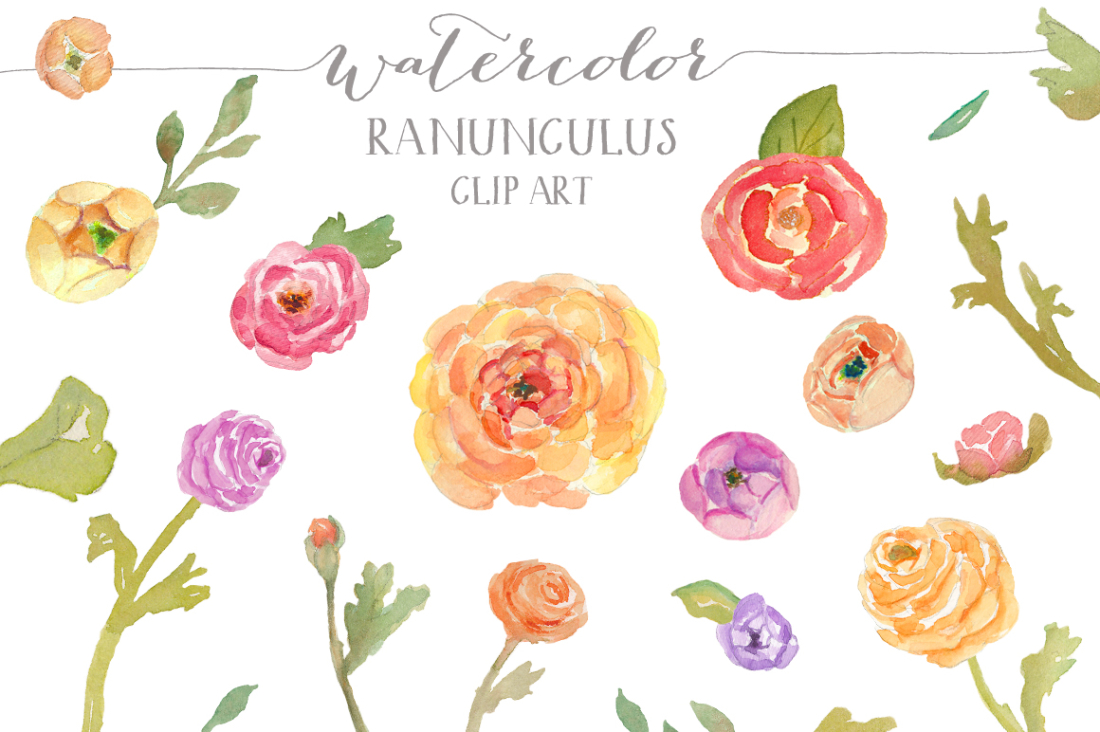 Free watercolor flower clipart graphic transparent download Free watercolor flower clipart - ClipartFest graphic transparent download