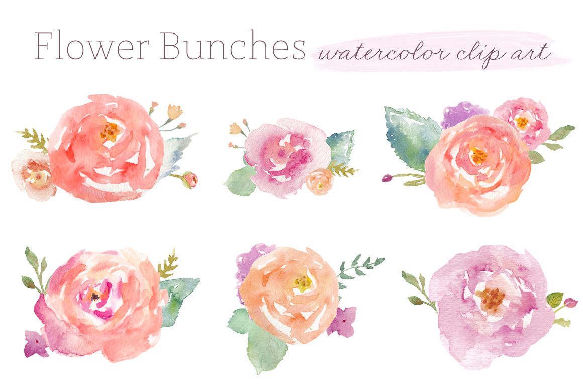 Free watercolor flower clipart banner download Free watercolor flower clipart - ClipartFest banner download