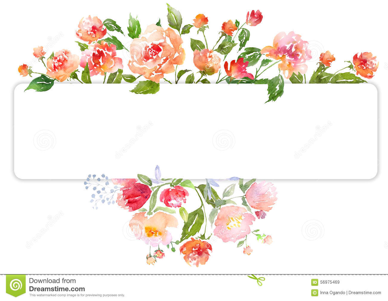 Free watercolor flower clipart image freeuse download Free watercolor flower clipart - ClipartFest image freeuse download