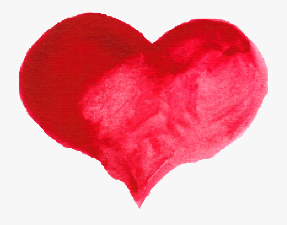 Red heart with arrow clipart transparent background graphic library library Red Heart Png Transparent Onlygfx Com - Watercolor Heart Clipart Png ... graphic library library