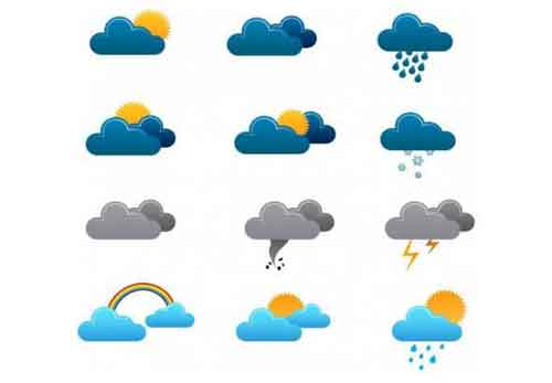 Free weather icons clipart banner library stock Weather Icons: 25 Free Sets of Vector and PNG Files to Download banner library stock