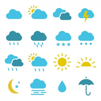 Free weather icons clipart banner freeuse Weather Vectors, Photos and PSD files | Free Download banner freeuse