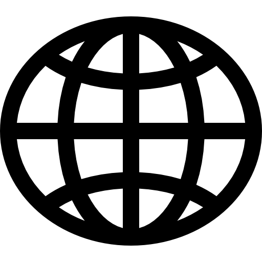 Free web icons clipart clipart black and white library World wide web globe Icons | Free Download clipart black and white library