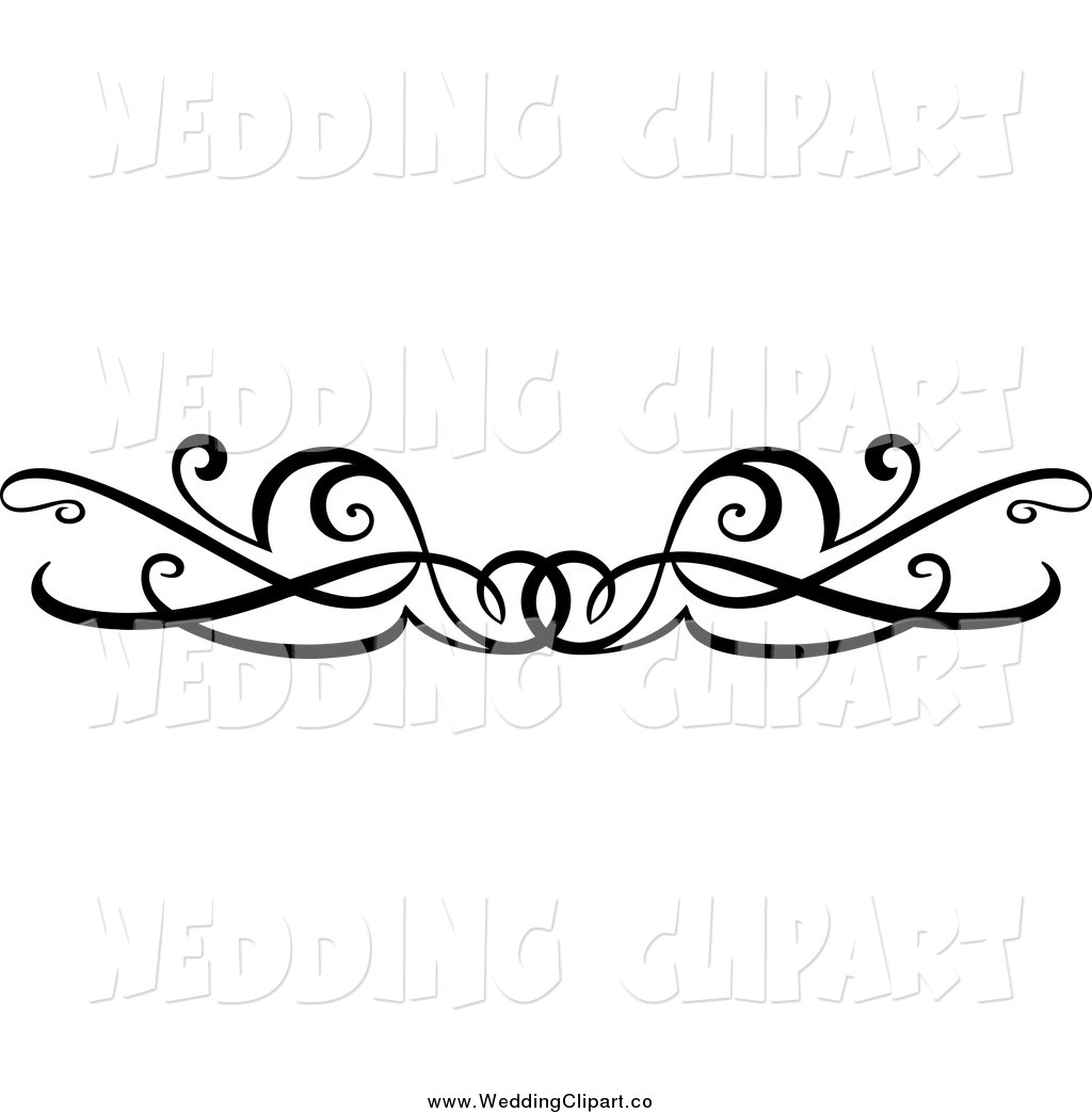 Wedding program clipart borders black and white Free Clip Art Borders Wedding | Clipart Panda - Free Clipart Images black and white