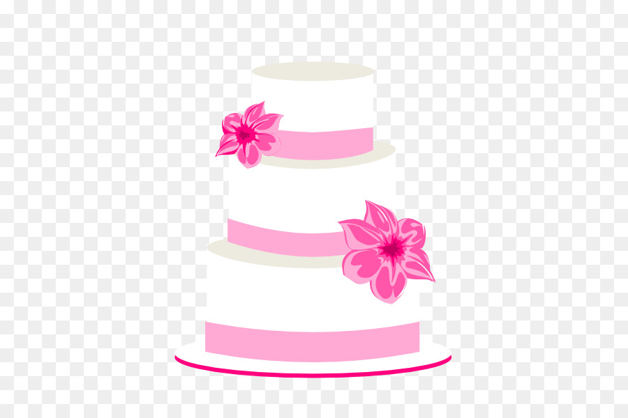 Wedding cake clipart png clip black and white library Pink Birthday Cake png download - 600*600 - Free Transparent Wedding ... clip black and white library
