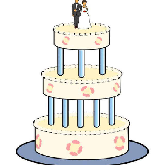 Samples of cake clipart picture freeuse library 9 Places to Download Free Wedding Clipart picture freeuse library