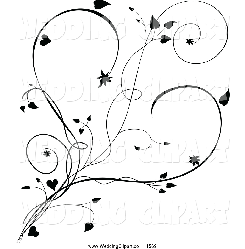 Free wedding clipart black and white bells and hearts banner black and white library Marriage Black And White Clipart - Clipart Kid banner black and white library