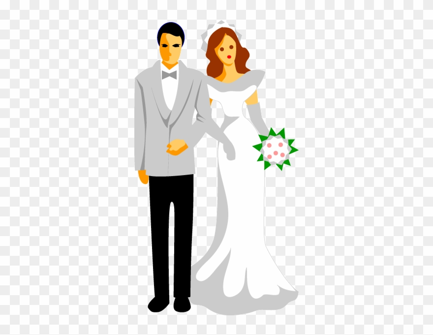Free wedding party clipart image royalty free stock Image Freeuse Library Couple Vector Wedding Reception - Wedding ... image royalty free stock