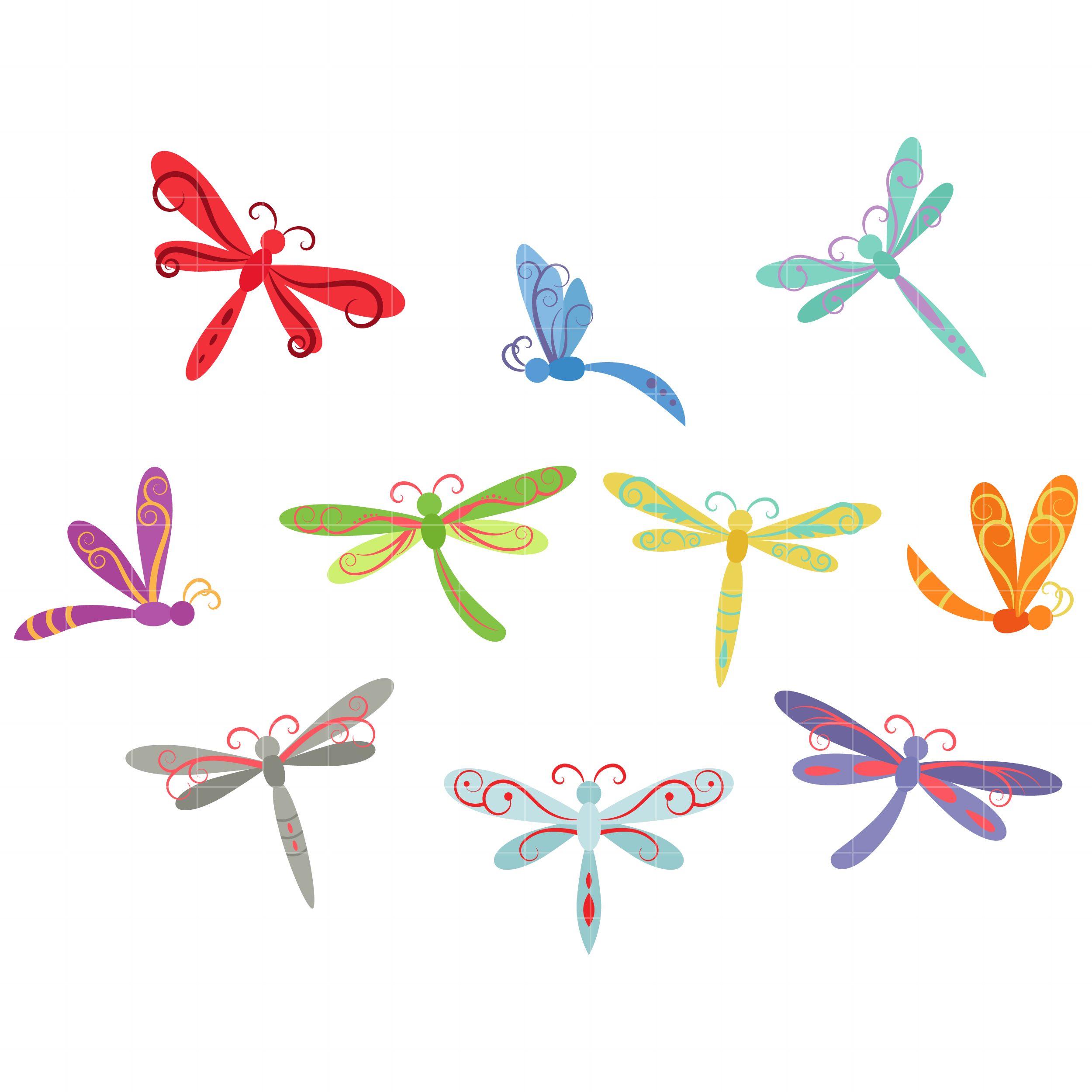 Free whimsical clipart