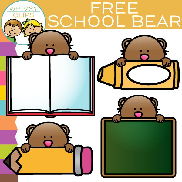School illustrations and clipart clip art library library Free Clip Art , Images & Illustrations | Whimsy Clips ® clip art library library