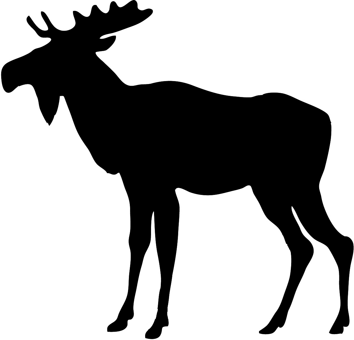 Free wildlife clipart images graphic free download Moose clip art free wildlife clipart - ClipartBarn graphic free download
