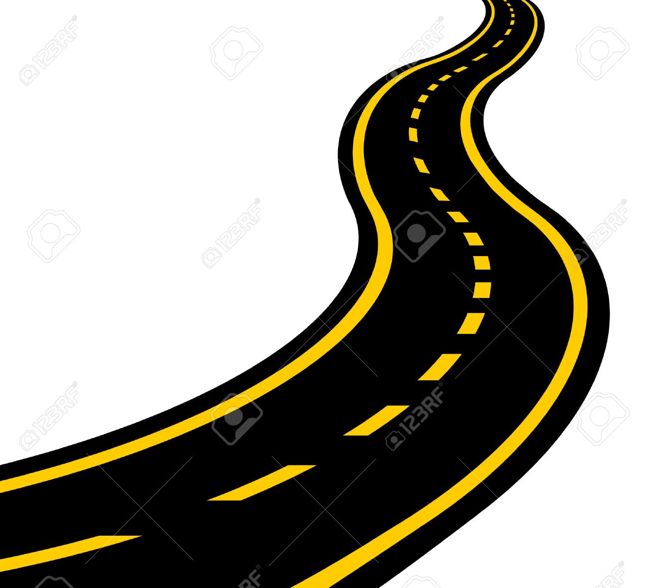 Windy road overhead view clipart graphic freeuse stock Winding Road Clipart | Free download best Winding Road Clipart on ... graphic freeuse stock