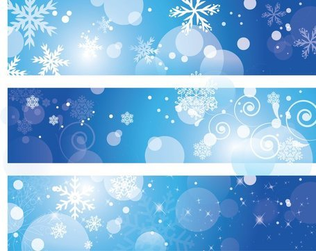 Winter blue banner clipart graphic library download Free Winter Banners Clipart and Vector Graphics - Clipart.me graphic library download