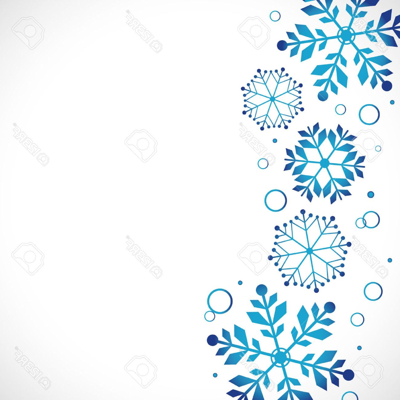 Free winter graphics clipart transparent stock Best Winter Snowflakes Border Clip Art Drawing » Free Vector Art ... transparent stock
