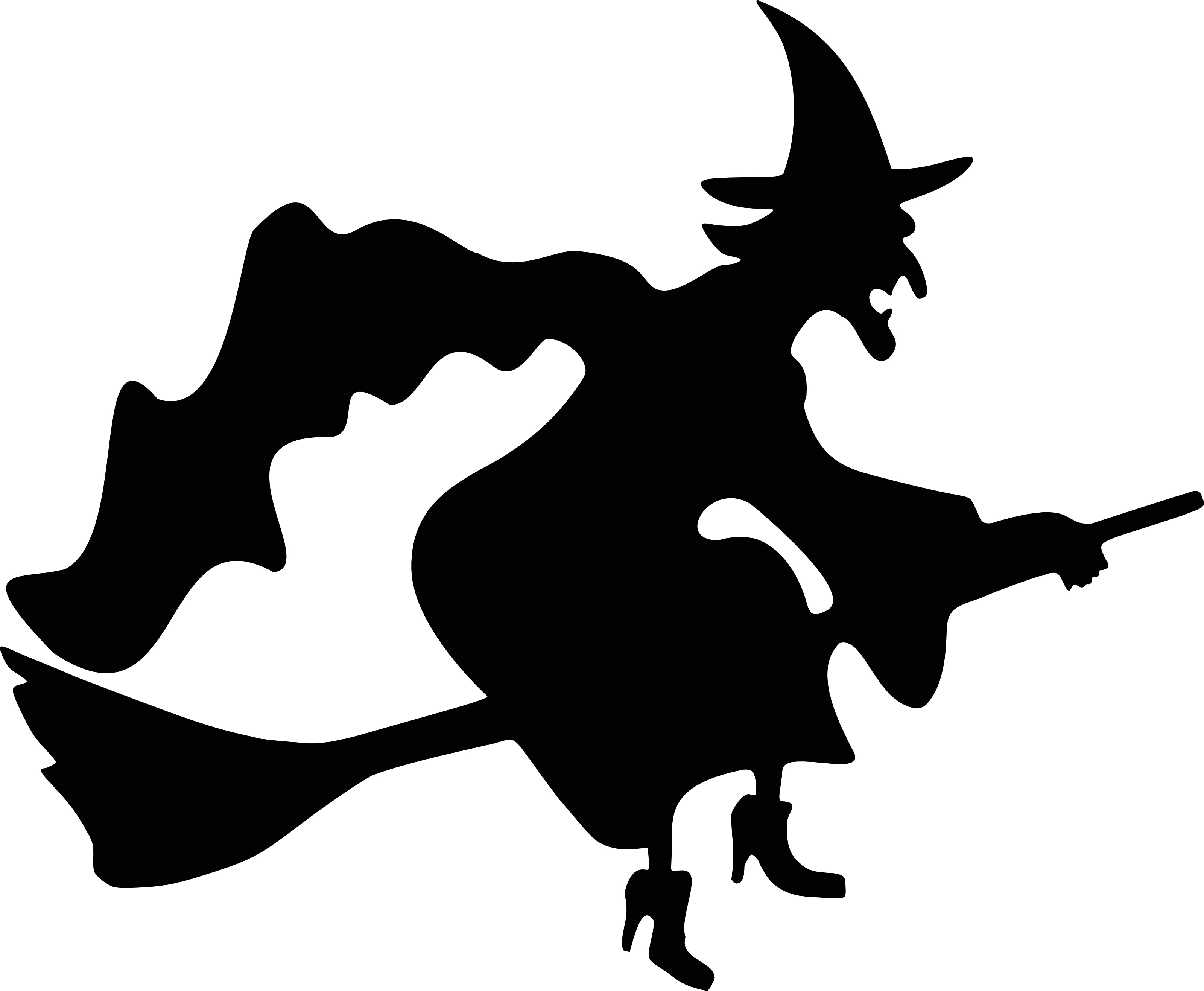 Witches clipart pictures free