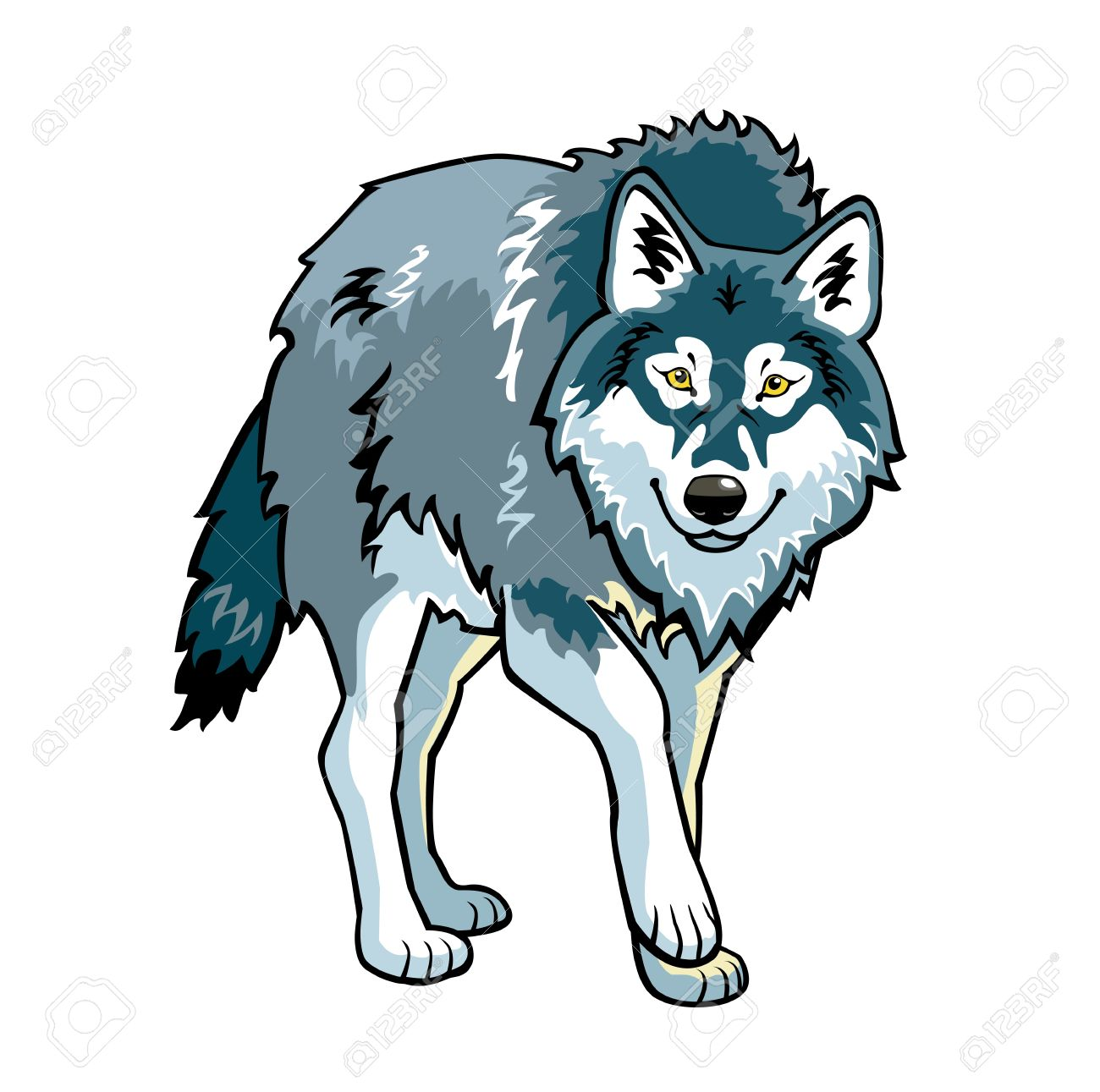 Free wolf images clipart banner freeuse Best Wolf Clipart #26232 - Clipartion.com banner freeuse