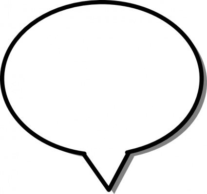 Speech bubble images clipart black and white download Free Free Word Bubbles, Download Free Clip Art, Free Clip Art on ... black and white download