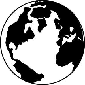Free world globe clipart black and white vector black and white library Globe black and white globe clipart black and white free images 2 ... vector black and white library