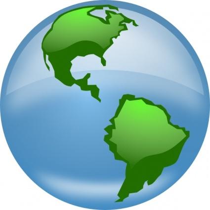 Free world map globe clipart jpg stock Free world map globe clipart - ClipartFest jpg stock