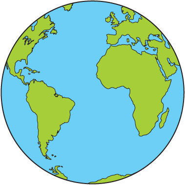 Free world map globe clipart banner royalty free library World Clipart & World Clip Art Images - ClipartALL.com banner royalty free library