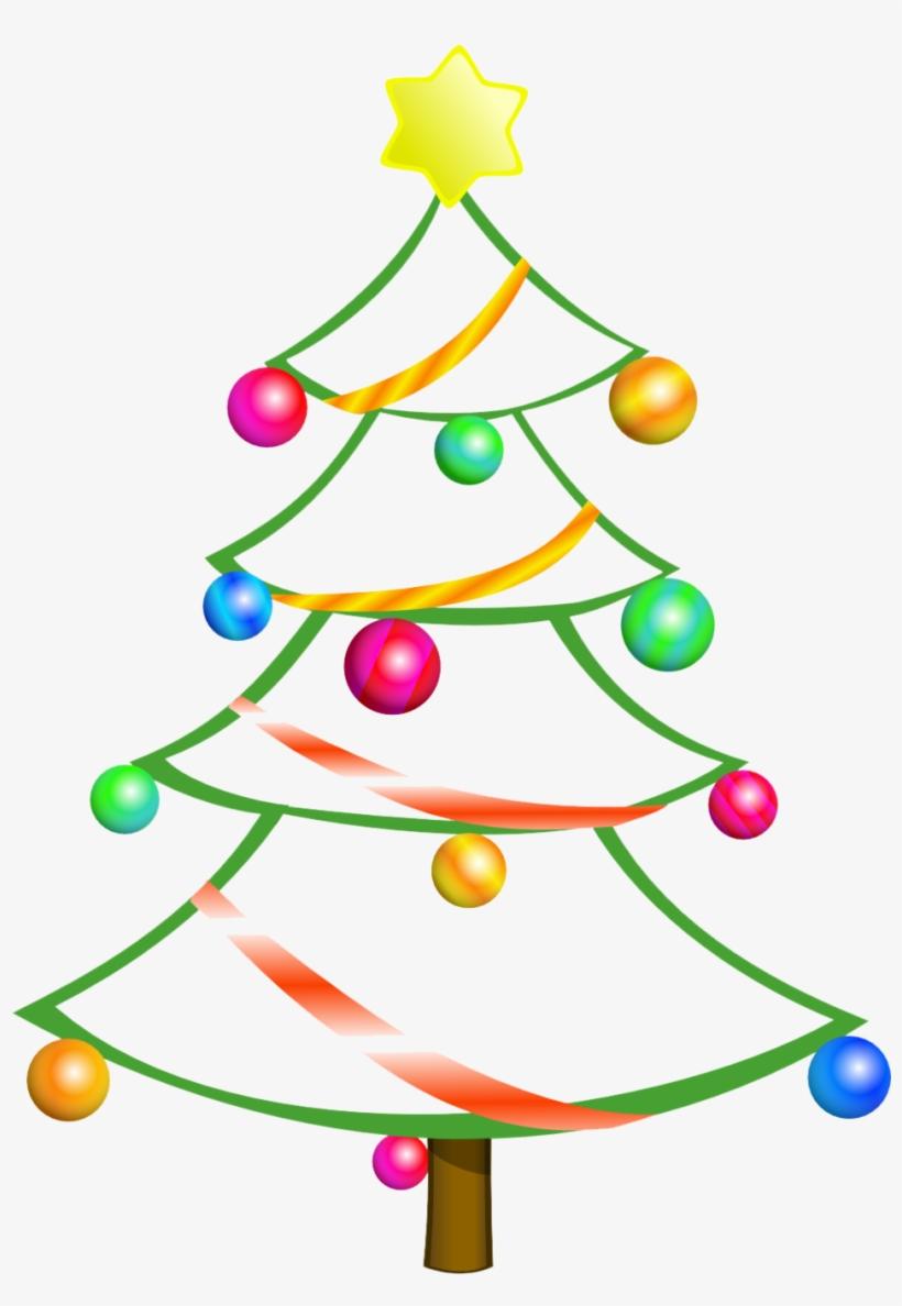 Free xmas tree clipart image freeuse stock Modern Christmas Tree Clipart Free - Christmas Tree 2 Shower Curtain ... image freeuse stock