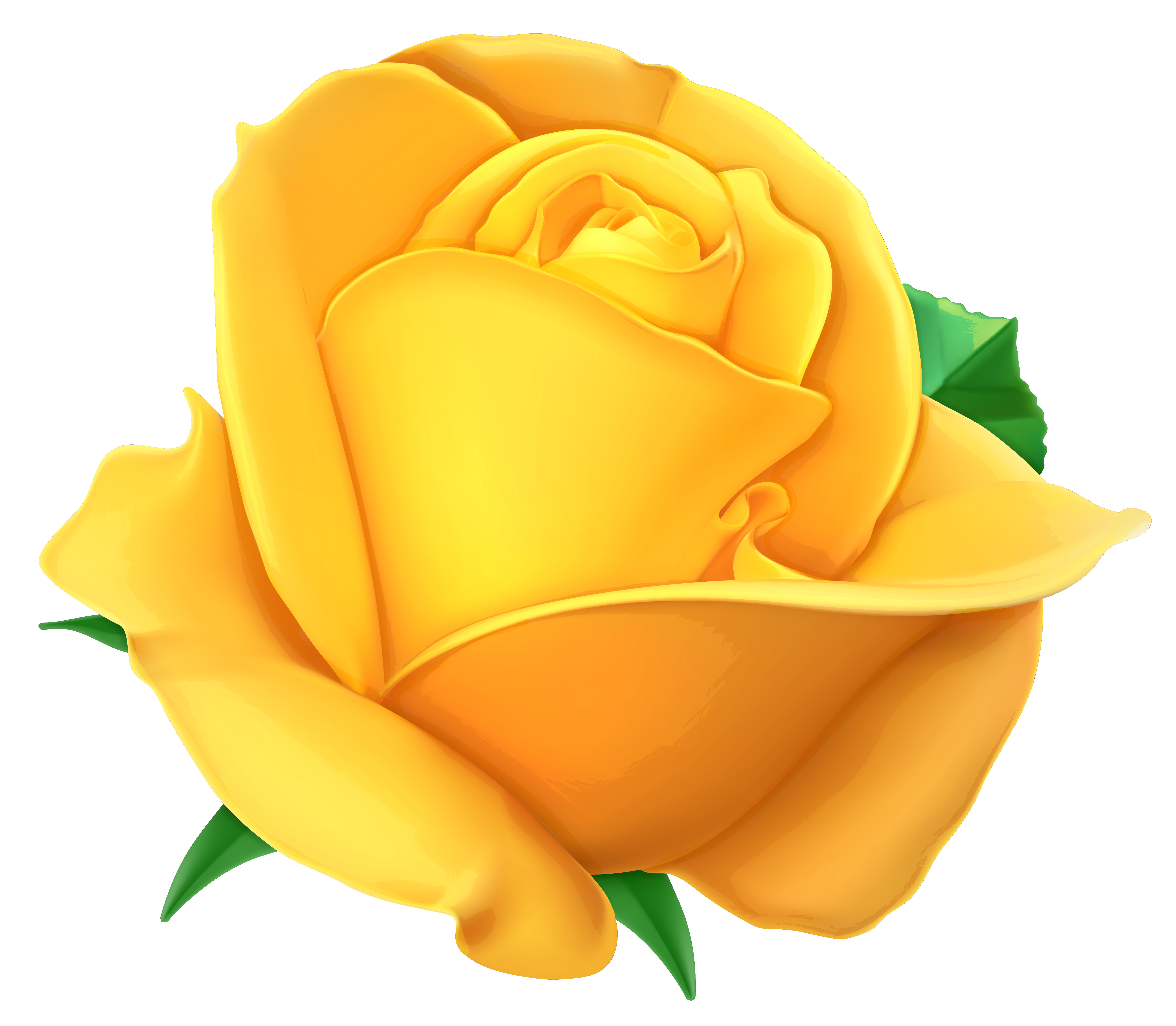Free yellow flower clipart vector black and white download Transparent Yellow Rose PNG Clipart Picture   Gallery Yopriceville ... vector black and white download