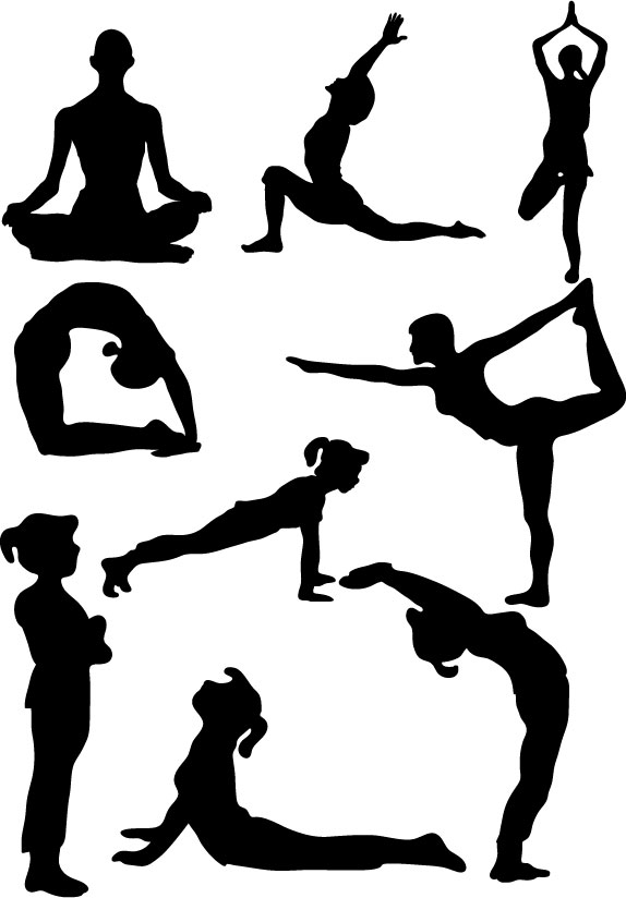 Yoga clipart large vector transparent download Free Yoga Pose Cliparts, Download Free Clip Art, Free Clip Art on ... vector transparent download